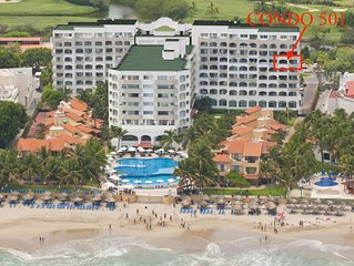 Oceanfront Condo 501- 2 Bedrooms, 2 Bath ( Sleeps 2-6)