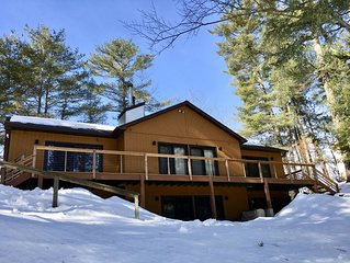 The Roost, a lakefront 4 season home in the Adirondack Mountains