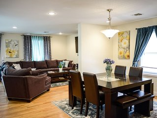 Host up to 20 Guests!!! - Close to NYC, EWR - 4 private parking spaces!!!
