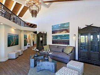 Luxury Beach Penthouse w/ Pool & Hot Tub- Steps To Beach, Shopping & Restaurants
