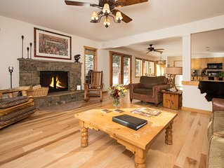 RMR: Fabulous 6 Bedroom Home in Teton Village! Free Activities Included!