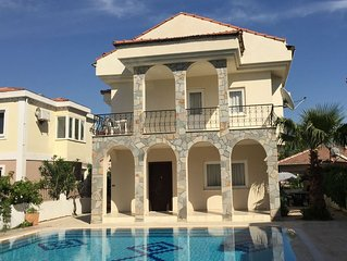Beautiful  4 bedroom family villa with pool. Gated secure garden and free wifi
