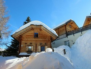 Comfortable chalet near the lake and ski lifts on the Turrach Pass