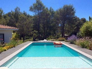 BEAUTIFUL VILLA WITH POOL IN EXCLUSIVE AREA CLOSE TO MONTPELLIER
