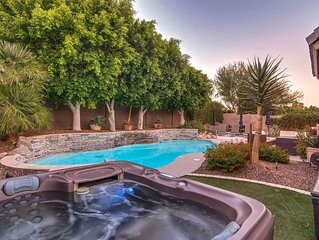 SWSSParkPlace Gorgeous backyard Heated pool 5 star home StayWithStyle