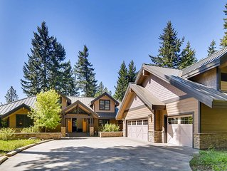 The BEST Suncadia Estate_3rd Nt FREE_Hot Tub_Game Rm_Covered Heatd Patio_WiFi