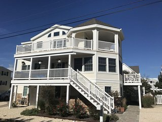 Luxury Oceanside, 4 Houses from Beach. Top Floor, Families Only.