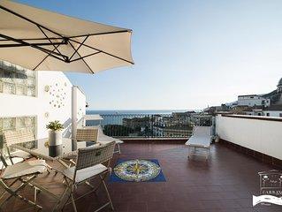 Appartamento Ravello - terrazzo vista mare