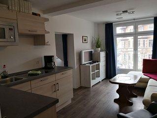Kleines, einfaches Dachgeschoss Appartment