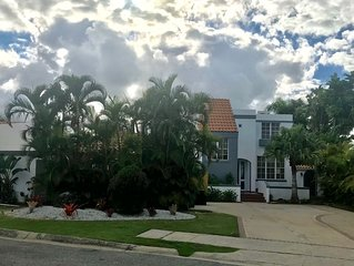 Beautiful estate w/pool surrounded by Rainforest & near pristine Luquillo beach