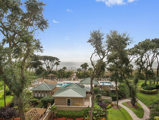 Hilton Head Island, Oceanfront 2 Bedroom Rental Villa/Condo
