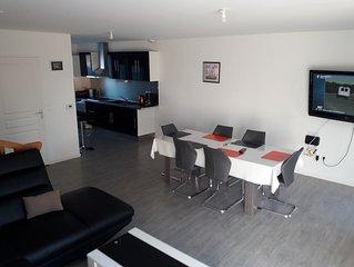 Maison T4 neuve a 300m de la plage avec garage et jardin privatif.