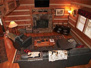 Private Cabin Near Boone - Fireplace, Hot Tub & Hiking/Horse Trails