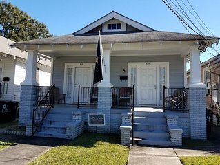 Classic Shotgun, Steps from City Park, 2 Streetcar Lines and Lafitte Greenway!