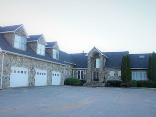 Beautiful Private Estate with Amazing Mountain Views + Lake!