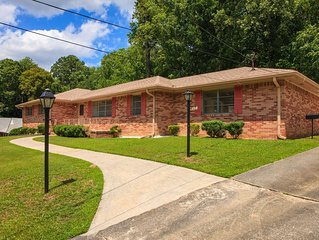 Private 5 Bedroom Brick Front House! – 16 min to Airport & Close to Downtown