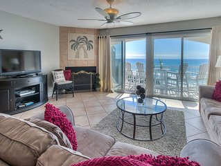 RENOVATED GULF FRONT -  2 Stories Endless Gulf Views - Blue Tide 1B
