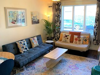 Hip & Cozy 1Br with a garden, ideal location in the heart of Williamsburg