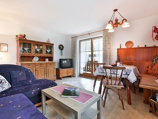 Ferienwohnung 1-4 Personen, 70 qm, 2 Schlafzimmer, Balkon mit Ausblick