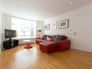 Luxury 2 Bed Central City Apartment
