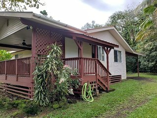 Tropical Vacation Home in Hawaiian Beaches, Pahoa, HI