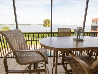 Coquina Moorings 203: Fantastic Condo with Amazing Water Views, Boat Dock, And H
