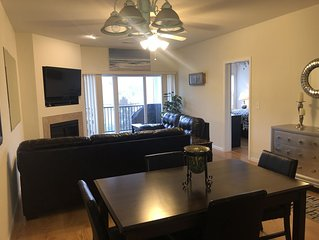 New Rates! Newly Upgraded Deck! Security Gate! Water Front Condo! NO STEPS!