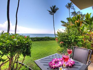 Maui 5 STAR REVIEWS! SAVINGS! Kanai A Nalu 119*