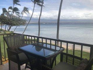 Maui Spectacular Prime Beach Front View!*Kanai A Nalu 202*