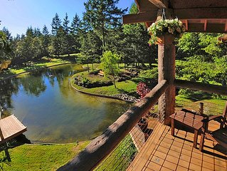 Grandma's Guest House, Waterfront Lake, Swimming, 2 Story - 20 acre gated estate