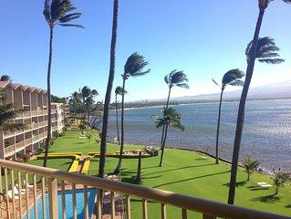 Maui Last Min SAVINGS Prime Ocean Front Central A/C *Maalaea Kai 403*