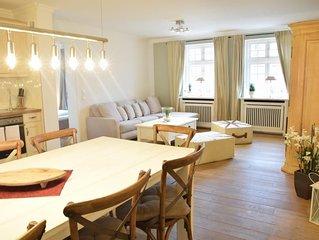 Erdgeschoss-Appartement mit ca. 85 qm, luxuriös und sehr hochwertig ausgestattet
