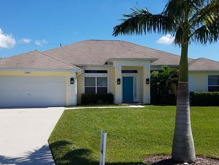 Highly Popular SW Cape Coral Home Near Many Amenities