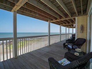Updated Oceanfront with indoor and outdoor pool in Ocean Dunes