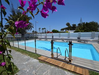 Warmed swimming-pool romantic location  wifi free 500mt Dunes beach9