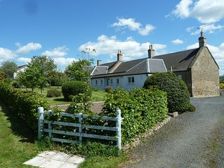Babingtons Cottage is 2.5 miles from Coldstream in the Scottish Borders