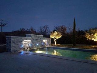 Villa avec piscine privee dans le Luberon