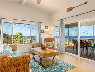Peaceful Haven: Oceanfront Views - Steps from Pebble Beach~