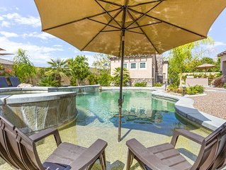 Escape To Desert Sunshine & Fresh Air -EXPANSIVE HOME + PRIVATE POOLSIDE CASITA
