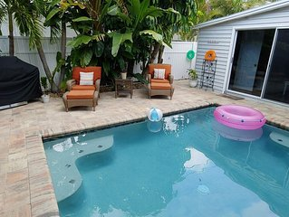 POOL, PRIVACY & BEACH STEPS AWAY