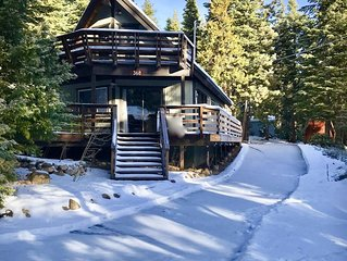 Tahoma-Cabin in The Woods