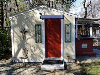 Peaceful near bethel Hidden oaks cabin #1