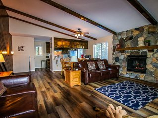 NEWLY RENOVATED! Your Tahoe home away from Home!