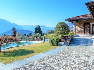 The Olive Grove, beautiful property on the Lake of Como
