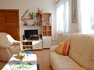 familienfreundliche Ferienwohnung, 75 qm Wohnfläche für 2-6 Personen