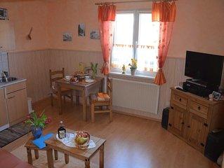 familienfreundliche Ferienwohnung 35 qm Wohnfläche für 1-3 Personen