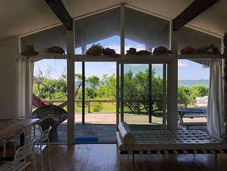Thanksgiving Special:  Waterfront Home with Private Beach on Lake Montauk