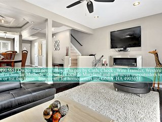 Beautiful Bayfront Home,  Ocean City MD On the water,sleeps 12 guest