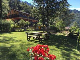 Ferienwohnung Pieve di Ledro fur 4 Personen mit 2 Schlafzimmern - Ferienwohnung