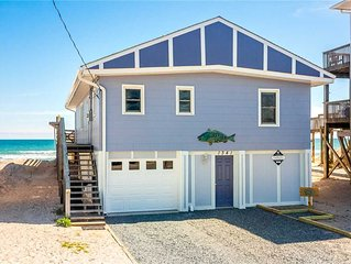 MAMAW'S SPOT: 3 BR / 2 BA oceanfront in Topsail Beach, Sleeps 6